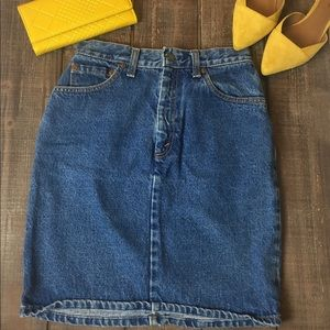 Levi Strauss Denim Skirt Jean skirt